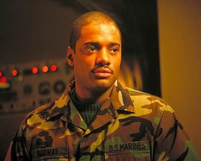 Charles Malik Whitfield plays Rodway in 20th Century Fox's Behind Enemy Lines
