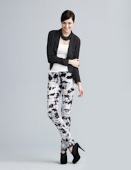 Printed pants are one of the hottest fall trends.