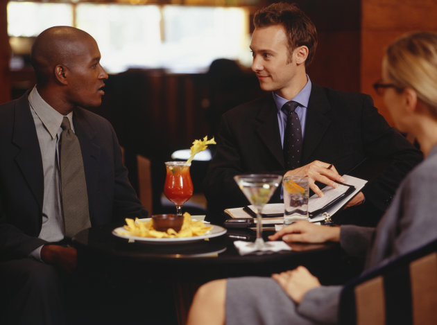 15 rules for talking business over drinks