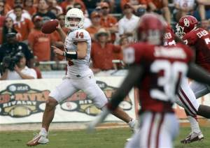 No. 13 Sooners rout No. 15 Texas 63-21