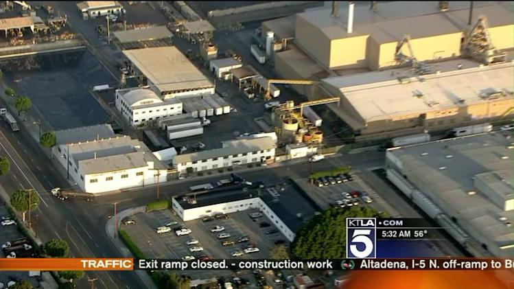 Warning Issued After Elevated Lead Levels Found Near L.A. Battery Recycling Plant