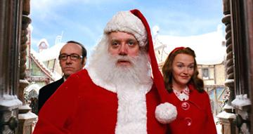 Kevin Spacey , Paul Giamatti and Miranda Richardson in Warner Bros. Pictures' Fred Claus