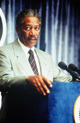 Morgan Freeman in Paramount Pictures' Deep Impact
