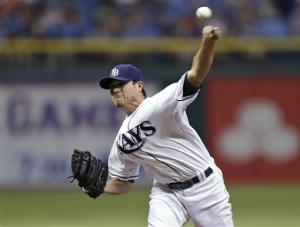 Moore gets 10th win, Rays beat Blue Jays 5-1