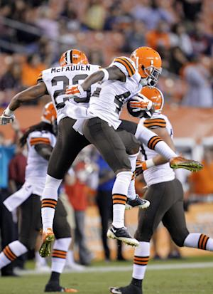 Jets claim CB McFadden off waivers from Browns