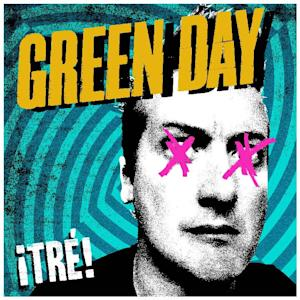 """This undated publicity photo provided by   Warner Bros. Records shows Green Day's album cover for """"¡TRE!,"""" part of a trilogy album release. (AP Photo/Warner Bros Records)"""