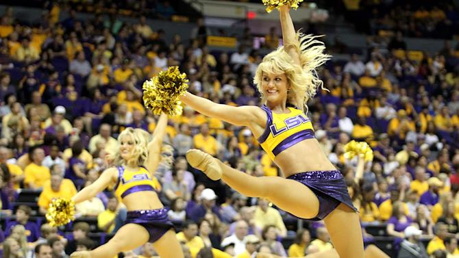 NCAA Basketball: Florida at Louisiana State