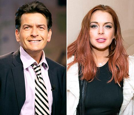 "Charlie Sheen: Lindsay Lohan Had Anger Management Set ""Held Hostage"""