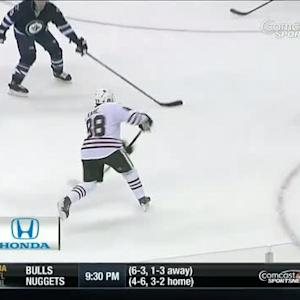 Patrick Kane snipes one on the PP