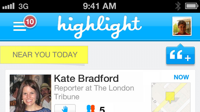 Highlight Updates Its iOS App, Finally Comes To Android
