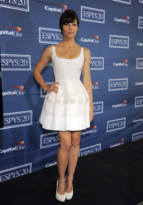 Jessica Biel en los Espy 2012