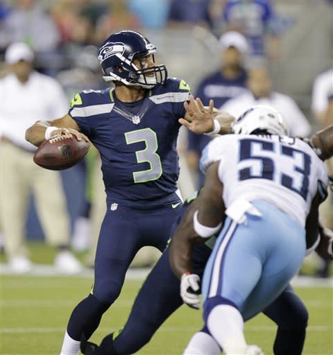 Seattle opens preseason with 27-17 win over Titans