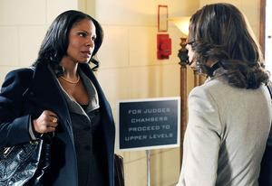 Audra McDonald and Julianna Margulies | Photo Credits: David M. Russell/CBS