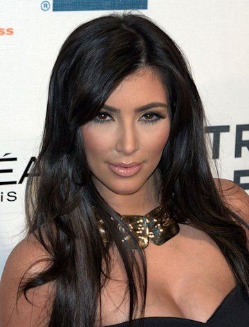Kim Kardashian is known to show a little skin!