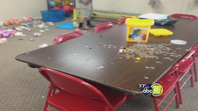 Vandals trash Madera County church building used for after-school program