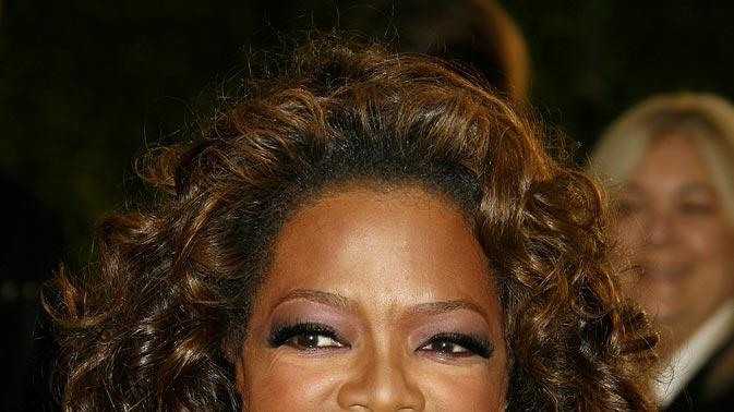 Oprah Winfrey at the 2007 Vanity Fair Oscar Party Hosted by Graydon Carter.