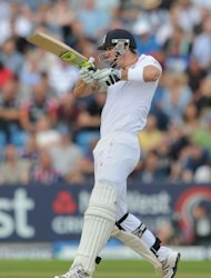 Kevin Pietersen was part of England's tour match against India A at Mumbai