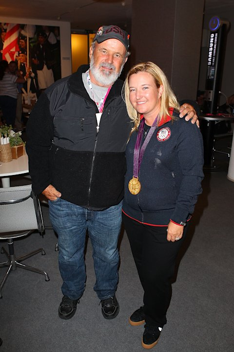 Gold Medalist Kimberly Rhode Attends USOC Function