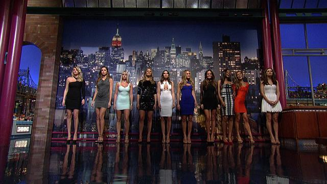 David Letterman - Sports Illustrated Swimsuit Top Ten Preview