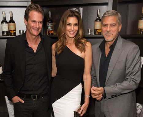 George Clooney Reveals How He Drunkenly Ended Up in Bed With Cindy Crawford -- And She Was Married!