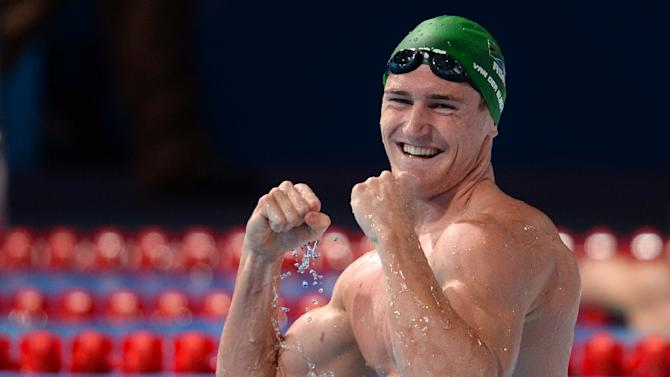 Cameron Van Der Burgh has medalled at all of the last five world swimming championships