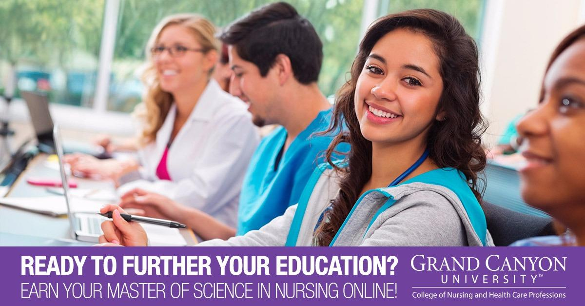 Advance Your Career with a Master's in Nursing!