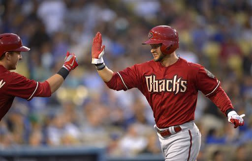 Diamondbacks beat Dodgers 8-6 in 12 innings