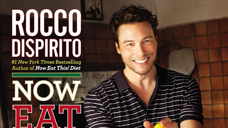 "This undated publicity photo provided by Grand Central Publishing shows the cover of Rocco Dispirito's diet cookbook ""Now Eat This! Italian."" (AP Photo/Grand Central Publishing)"