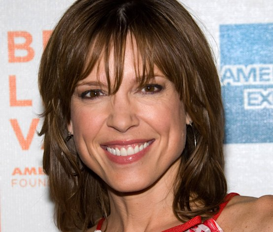 FILE - In this Friday, April 23, 2010 file photo, Hannah Storm attends the premiere of &quot;Straight Outta L.A.&quot; as part of the Tribeca Film Festival in New York. ESPN anchor Storm will return to the air on New Year&#39;s Day, exactly three weeks after she was seriously burned in a propane gas grill accident at her home. Storm suffered second-degree burns on her chest and hands, and first-degree burns to her face and neck. She lost her eyebrows and eyelashes, and roughly half her hair. (AP Photo/Charles Sykes, File)