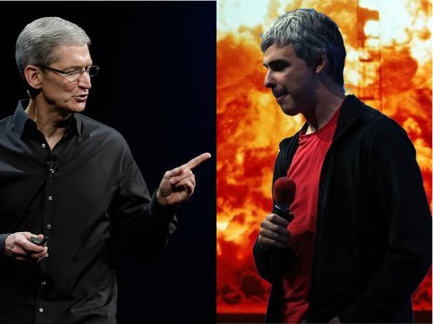 Larry Page Tim Cook