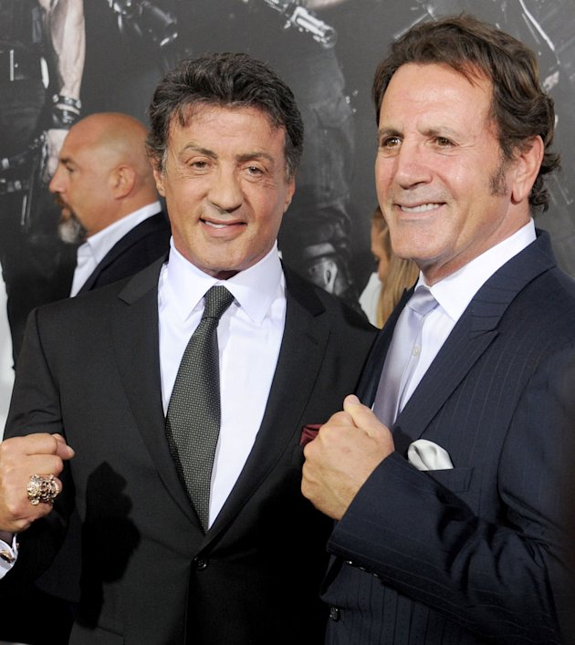 The Expendables 2 LA Premiere