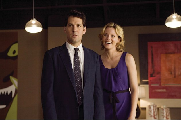 Paul Rudd Elizabeth Banks Role Models Production Stills Universal 2008