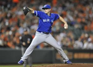 Laffey, 5 relievers help Toronto shut out Orioles