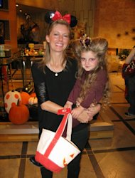 Ryan Patterson and daughter Harlow at the Access Hollywood Live Kids Halloween Fashion show -- Access Hollywood