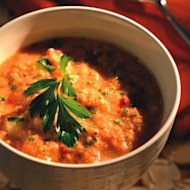 Grilled Tomato Gazpacho