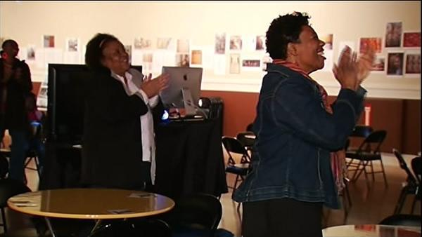 Locals gather to watch Pres. Obama's Inauguration