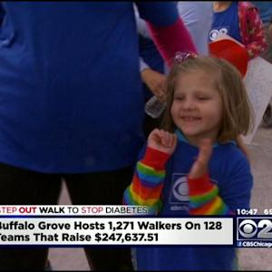 Thousands Raise Money For Diabetes Research