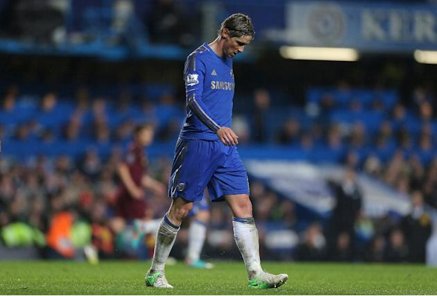 Fernando Torres has yet to find his goalscoring touch for Chelsea