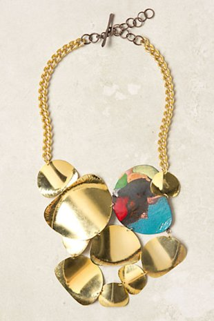 Sunshower Bib Necklace