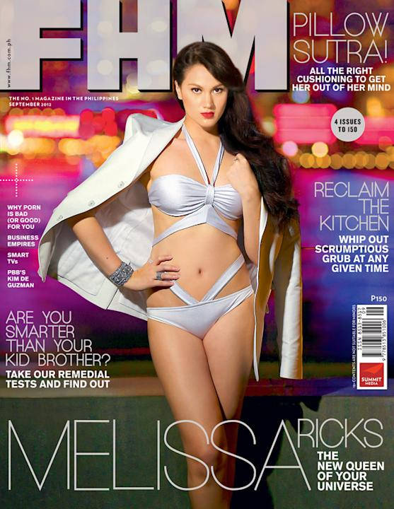Melissa Ricks (Publicity photo courtesy of FHM Philippines)