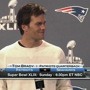 New England Patriots quarterback Tom Brady on Peyton: I hope he comes back