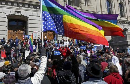 Indiana to clarify 'religious freedom' law, Georgia, N.C. bills stall