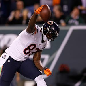 Chicago Bears tight end Martellus Bennett 13-yard TD reception