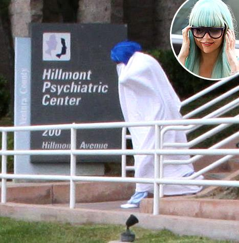 Amanda Bynes Transfers to UCLA Psychiatric Facility, Hides Under Blanket: Picture