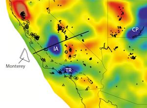 'Lost' Tectonic Plate Found Beneath California