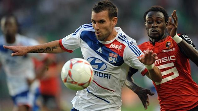 FOOTBALL 2012 Lyon - Rveillre
