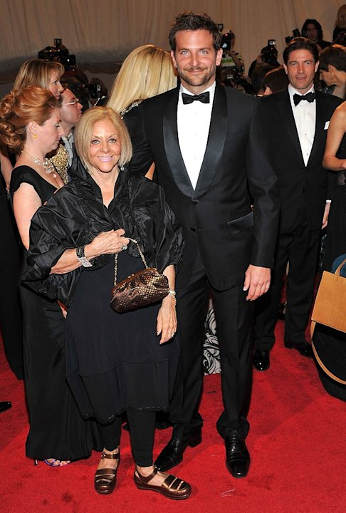 Bradley Cooper Mom TheMET Gala