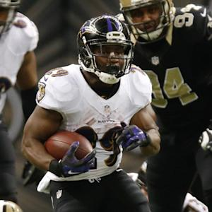 Week 12: Baltimore Ravens running back Justin Forsett highlights