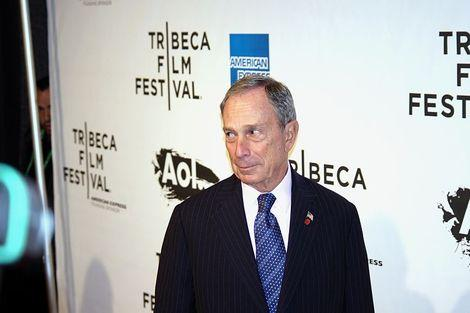 Michael Bloomberg attending the premiere of The Union at the 2011 Tribeca Film Festival.