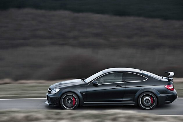 Mercedes C63 AMG Black Series: 	Taking most family saloons to a race track would be a waste of time. Take a Mercedes-Benz C63 AMG Black Series and you'll discover a data logging system so you can comp